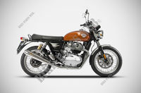 UITLAATSYSTEEM ZARD TWIN voor Royal Enfield INTERCEPTOR 650 TWIN EURO 4